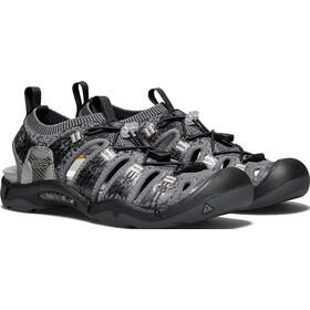 Keen Evofit One Sandals Men Heathered Black/Magnet